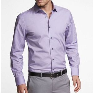 Express Lavender/purple dress shirt
